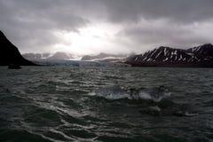 第18冰川7月 免版税图库摄影