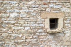 第18砖世纪墙壁 免版税库存照片