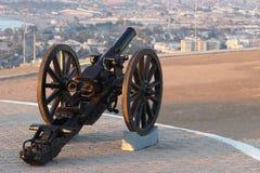 第19个大炮世纪 库存图片