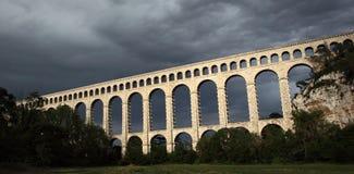 第19个美好的桥梁世纪普罗旺斯 库存图片