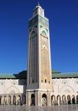 第2个哈桑・摩洛哥清真寺 免版税库存照片
