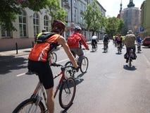 第2次循环的系列鲁布林波兰集会 免版税库存图片