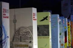 第20柏林秋天周年纪念墙壁 免版税库存照片
