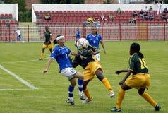 第25足球universiade 图库摄影