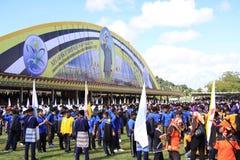 第28汶莱日国家参与者s 免版税库存照片
