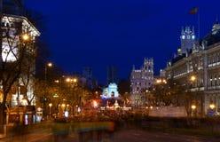 第29马德里行军西班牙罢工 库存图片