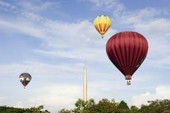 第3个气球节日热国际putrajaya 库存照片