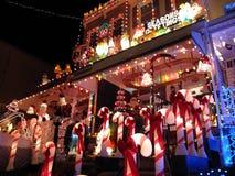 第34条圣诞节汉普登街道 库存照片