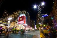 第34街道Macys NYC 库存图片
