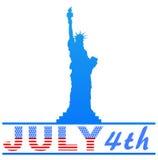 第4独立7月 免版税库存照片