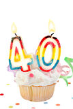 第40个生日 图库摄影