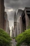 第42条nyc街道 免版税库存图片