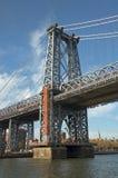 第59条桥梁nyc街道 免版税图库摄影