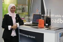 第6个经济论坛伊斯兰妻子世界 免版税库存图片