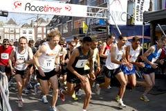 第6开始drechtstedenloop赛跑者 免版税图库摄影