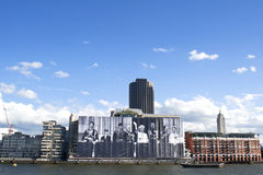 第60或第75周年纪念庆祝 免版税库存图片