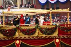 第60或第75周年纪念女王/王后s 库存照片