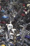 第67辆每年Sturgis摩托车Rall 免版税库存图片