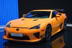 第81个日内瓦国际汽车展示会 免版税图库摄影