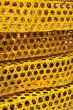 笼子被编织的模式表面 图库摄影