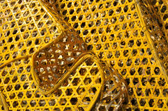 笼子颜色被编织的形状 库存图片