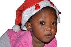 等待父亲圣诞节 免版税库存照片