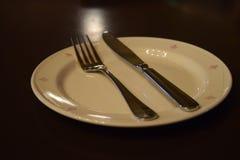 等待的午餐 免版税库存图片