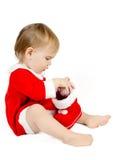 等待的圣诞老人 免版税库存照片