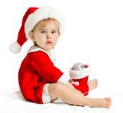 等待的圣诞老人 免版税库存图片