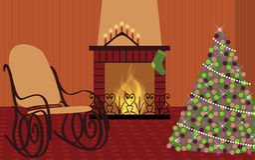 等待的圣诞节 库存图片