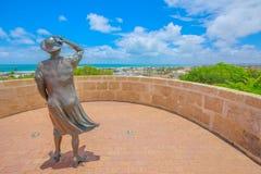 等待的妇女Geraldton 免版税图库摄影