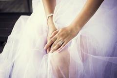 等待的婚礼 免版税库存照片