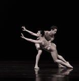 等待的救世古典芭蕾` Austen汇集` 免版税库存图片