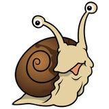 等待的蜗牛 库存图片