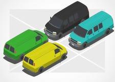 等量世界的汽车 免版税库存图片
