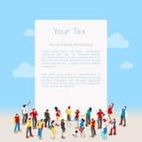 等量信件的模板 免版税图库摄影
