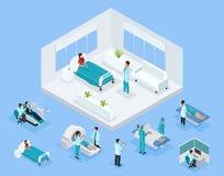 等量医疗保健概念 向量例证