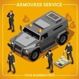 等量装甲的02的车 免版税库存图片