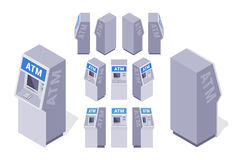 等量ATMs 免版税库存照片