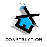 建筑商标 库存例证