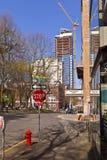 建筑在波特兰俄勒冈 免版税库存照片