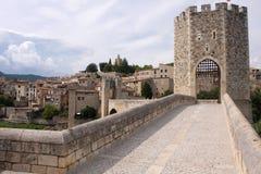 筑堡垒于的城镇 免版税库存图片