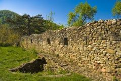 筑堡垒于的墙壁 免版税图库摄影