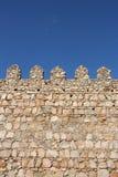 筑堡垒于的墙壁 图库摄影