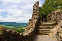 筑堡垒于的墙壁 免版税库存照片