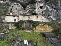 筑堡垒于的房子 免版税库存照片