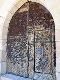筑堡垒于的门 免版税库存照片