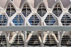 建筑复合体在巴伦西亚 免版税库存图片