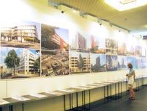 建筑学和设计的第19国际陈列 库存照片