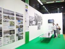建筑学和设计的第19国际陈列 库存图片